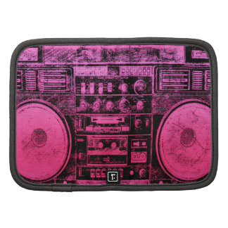 Pink boombox planners