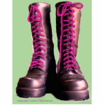 Pink Boots Acrylic Cut Out