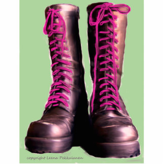 Pink Boots Statuette