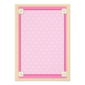 Pink Border on Handcrafted Acrylic Texture Sheet12 Card