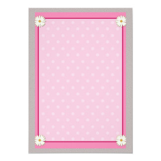Pink Border on Handcrafted Acrylic Texture Sheet2 Card