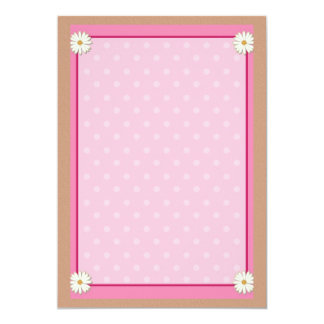 Pink Border on Handcrafted Acrylic Texture Sheet3 Card