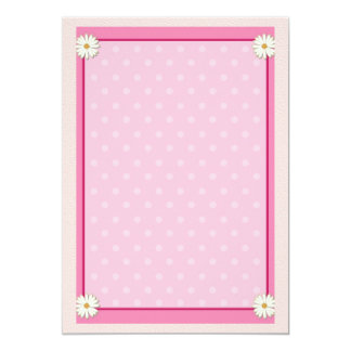 Pink Border on Handcrafted Acrylic Texture Sheet7 Card