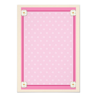 Pink Border on Handcrafted Acrylic Texture Sheet9 Card