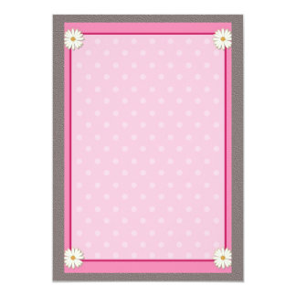 Pink Border on Handcrafted Acrylic Texture  V23 Card