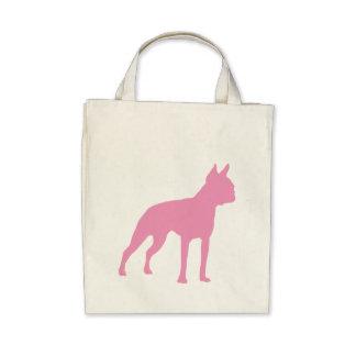 Pink Boston Terrier Dog Gifts Bag