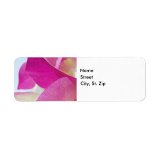 Pink Bougainvillea Label