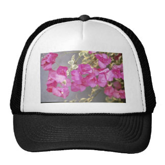 Pink Bougainvillea 'Raspberry Ice' (Paper Flower) Trucker Hat