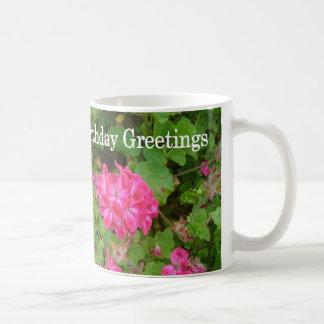 Pink Bouquet Classic White Coffee Mug