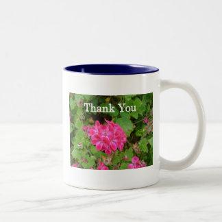 Pink Bouquet Two-Tone Coffee Mug