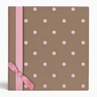 Pink Bow Binders