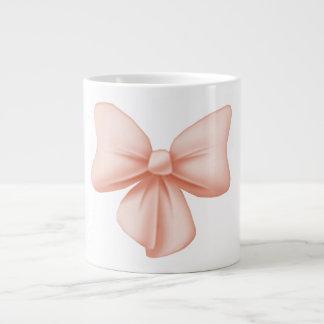 Pink Bow Jumbo Mug