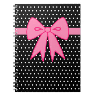 Pink Bow Notebook