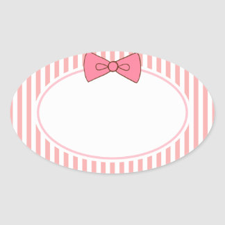 Pink Bow Stickers