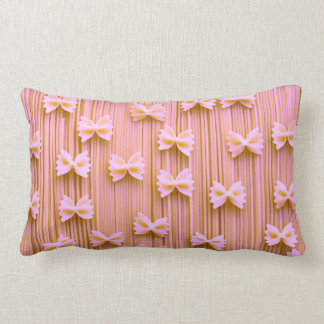 Pink Bow Tie Pasta Pillow