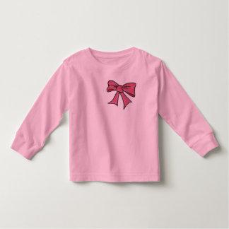 Pink Bow Toddler T-shirt