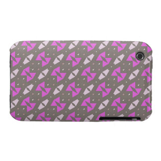 Pink bows pattern iPhone 3 covers