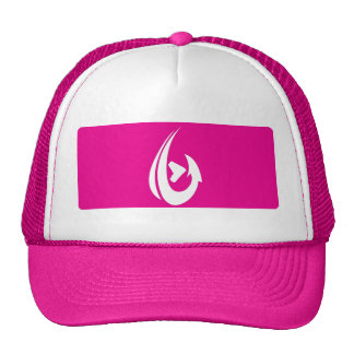 Pink Box Trucker Hat