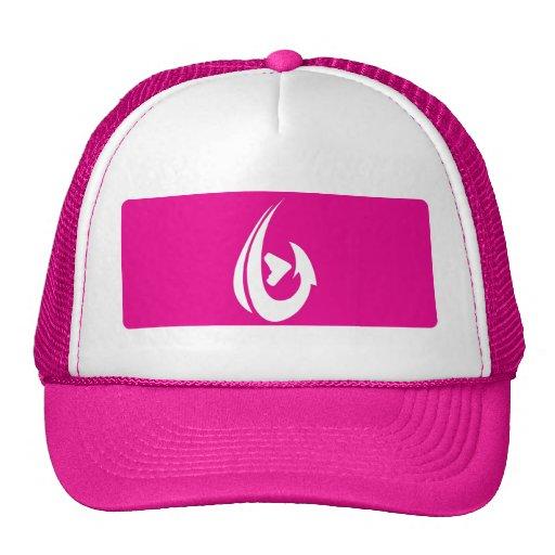 Pink Box Trucker Hats