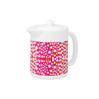 Pink breakfast teapot
