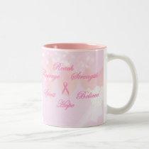 Pink Breast Cancer Awareness Mug
