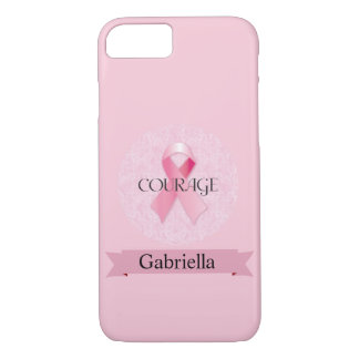 Pink Breast Cancer iPhone 7 Cases