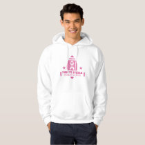 Pink Breast Cancer Support Hoodie