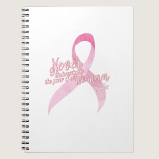 Pink Breast Cancer Support Notebook