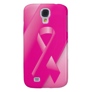 PINK BREAST CANCER SUPPORT RIBBON CAUSES WOMEN SAMSUNG GALAXY S4 CASE