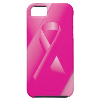 PINK BREAST CANCER SUPPORT RIBBON CAUSES WOMEN iPhone 5 CASE