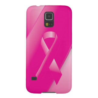 PINK BREAST CANCER SUPPORT RIBBON CAUSES WOMEN GALAXY S5 COVER