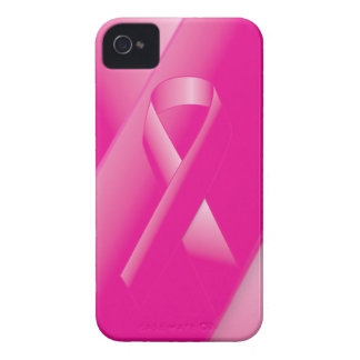 PINK BREAST CANCER SUPPORT RIBBON CAUSES WOMEN iPhone 4 COVER