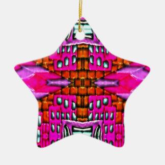 """Pink Bred Meli """" Designs 2013 """" Gifts ""007 Ceramic Ornament"