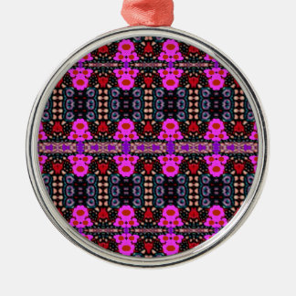 """""""Pink Bred Meli """""""" Designs 2013 """""""" Gifts """"027 Metal Ornament"""