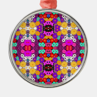 """""""Pink Bred Meli """""""" Designs 2013 """""""" Gifts """"030 Metal Ornament"""