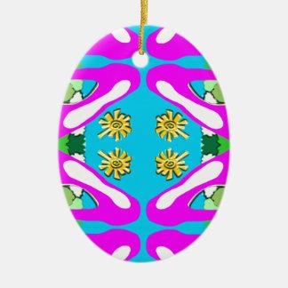 """Pink Bred Meli """" Designs 2013 """" Gifts ""044 Ceramic Ornament"