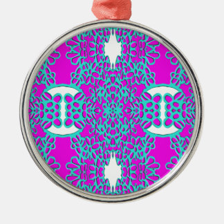 """""""Pink Bred Meli """""""" Designs 2013 """""""" Gifts """"046 Metal Ornament"""