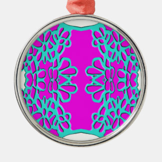 """""""Pink Bred Meli """""""" Designs 2013 """""""" Gifts """"049 Metal Ornament"""