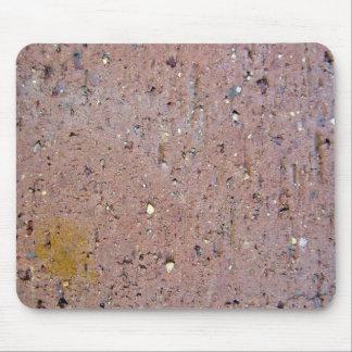 Pink Brick Texture Mouse Pad