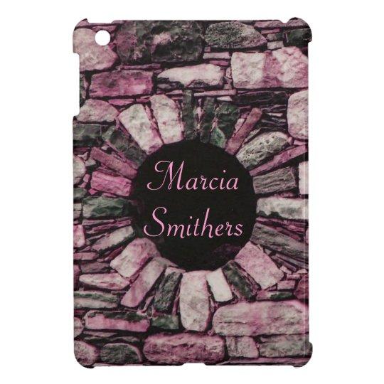 Pink Brick Wall iPad Mini Case *personalize*
