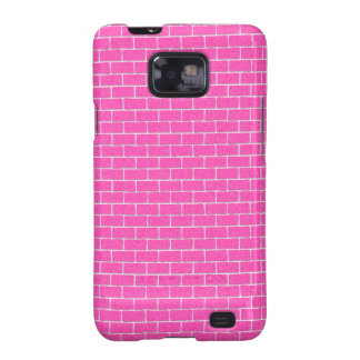 Pink Bricks Galaxy SII Covers