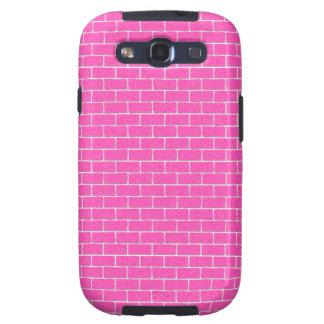 Pink Bricks Samsung Galaxy SIII Covers