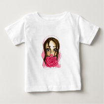 Pink Bride Baby T-Shirt