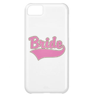 Pink Bride Design with Swash Tail iPhone 5C Case
