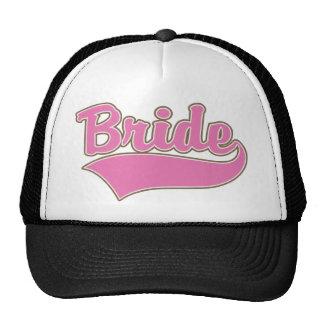 Pink Bride Design with Swash Tail Trucker Hat