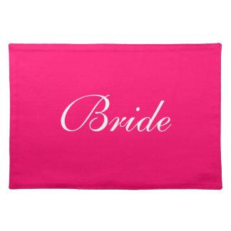 Pink Bride Placemat