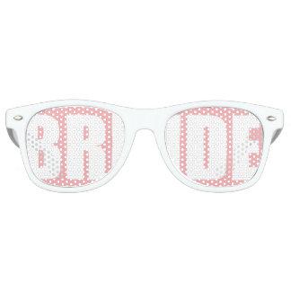 Pink Bride Shades Wayfarer Sunglasses