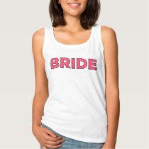 Pink Bride Shirt   Bridal