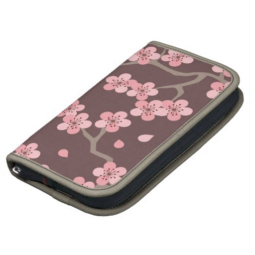 Pink Brown Cherry Blossom Planners