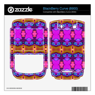 Pink Brown Colorful Ribbons BlackBerry Skins